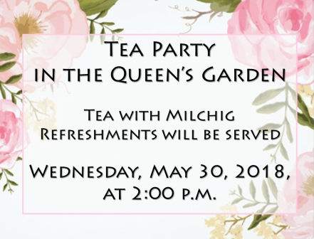 Garden Tea Party Sign Image