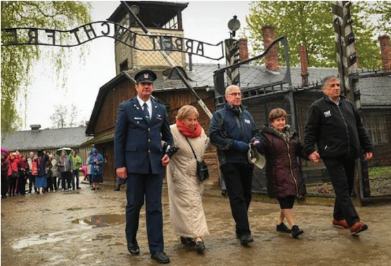 Bronia Brandman Returning to Auschwitz 75 Years Later